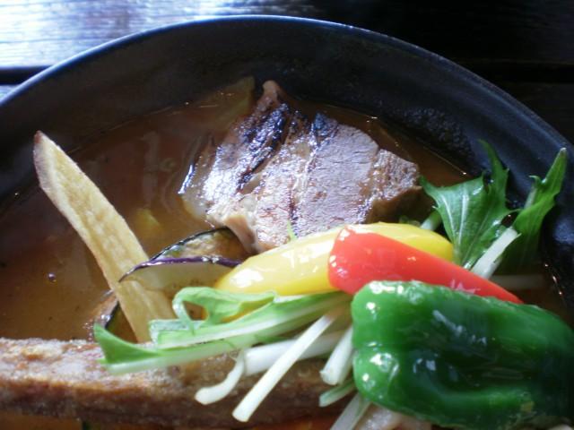 スープカレー侍 角煮